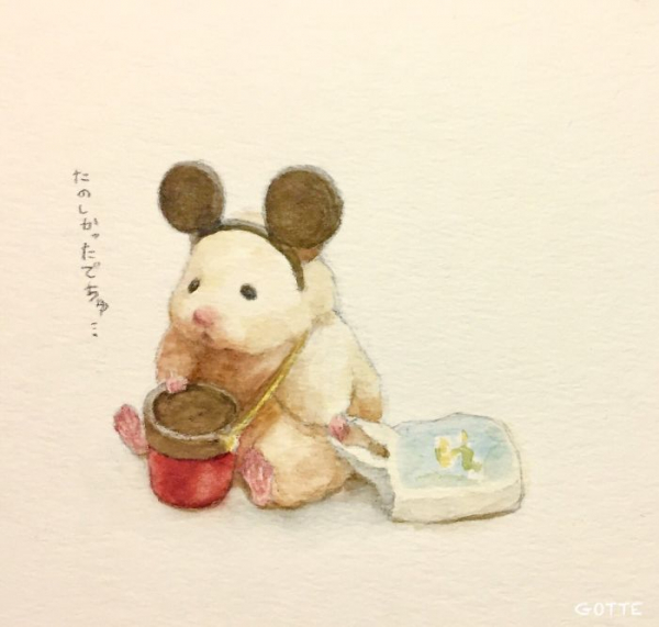 artist illustrates the typical life of a japanese hamster and the result is very cute 5c47fd8311a68 700