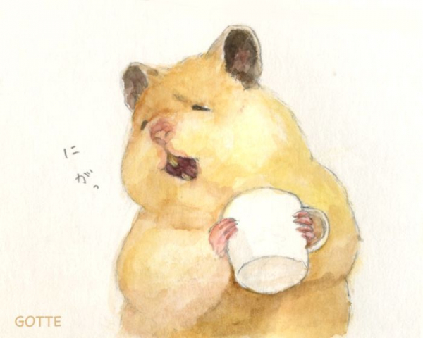 artist illustrates the typical life of a japanese hamster and the result is very cute 5c47fd86035b3 700
