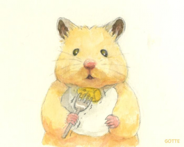 artist illustrates the typical life of a japanese hamster and the result is very cute 5c47fd90c6426 700