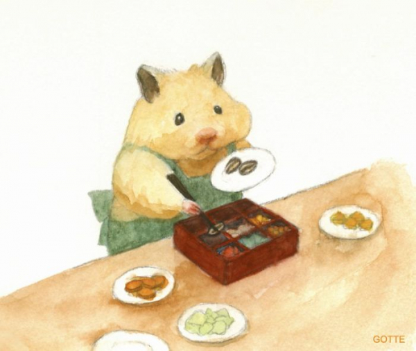 artist illustrates the typical life of a japanese hamster and the result is very cute 5c47fd932441a 700