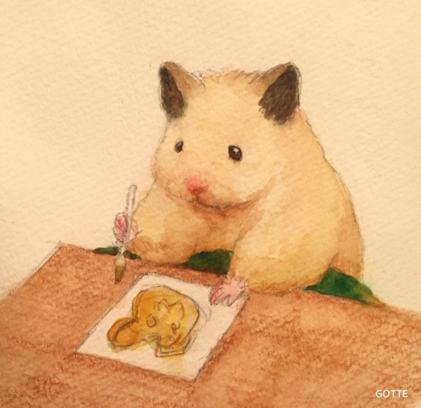 artist illustrates the typical life of a japanese hamster and the result is very cute 5c47fd9e18524 700