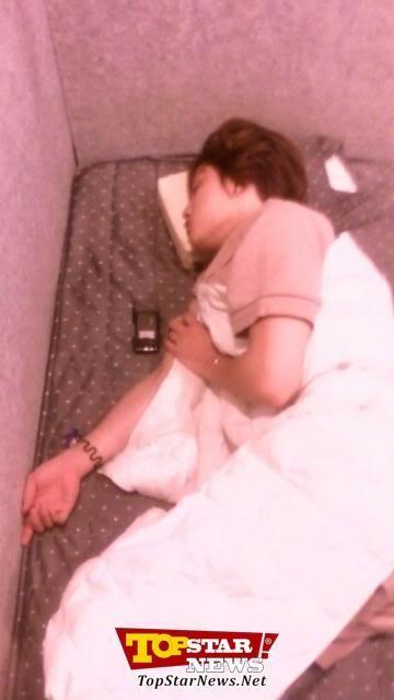 jj sleeping