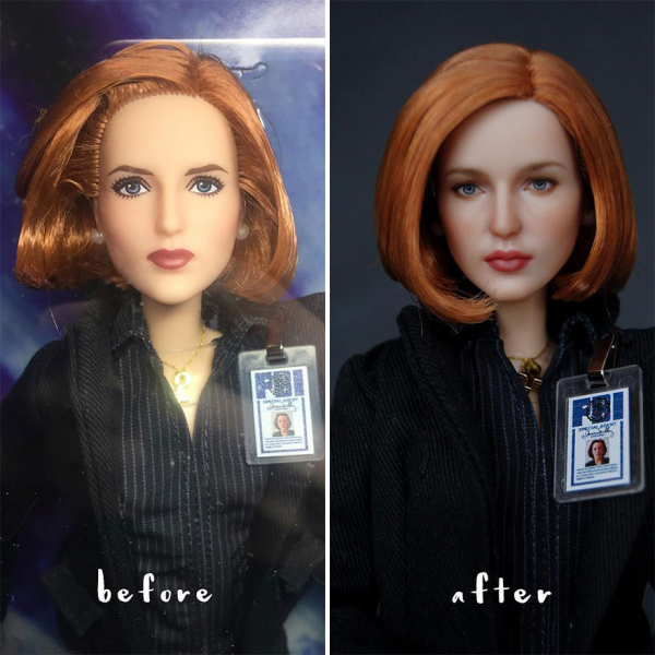 ukrainian artist continues to remove the makeup of dolls and re creates them with an incredibly real look 5c63e10cb64e1 880