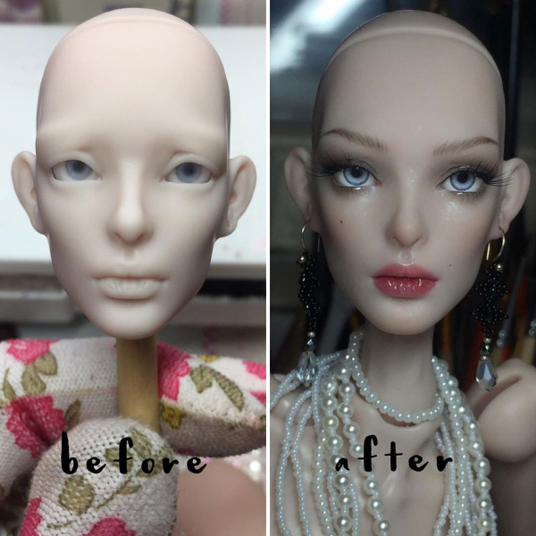 ukrainian artist continues to remove the makeup of dolls and re creates them with an incredibly real look 5c63e115744c0 880