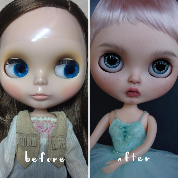 ukrainian artist continues to remove the makeup of dolls and re creates them with an incredibly real look 5c63e1173b3be 880