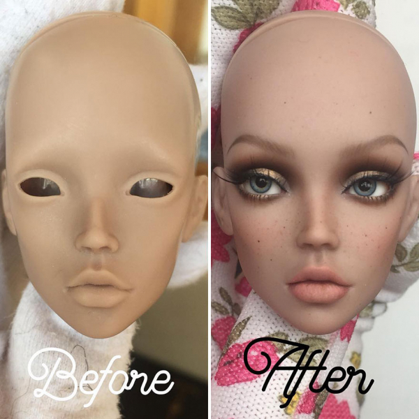 ukrainian artist continues to remove the makeup of dolls and re creates them with an incredibly real look 5c63e11aa34a5 880