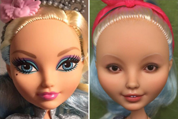ukrainian artist continues to remove the makeup of dolls and re creates them with an incredibly real look 5c63e1257f0bd 880
