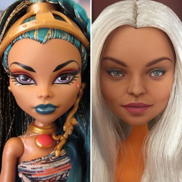 ukrainian artist continues to remove the makeup of dolls and re creates them with an incredibly real look 5c63e128a21d2 880