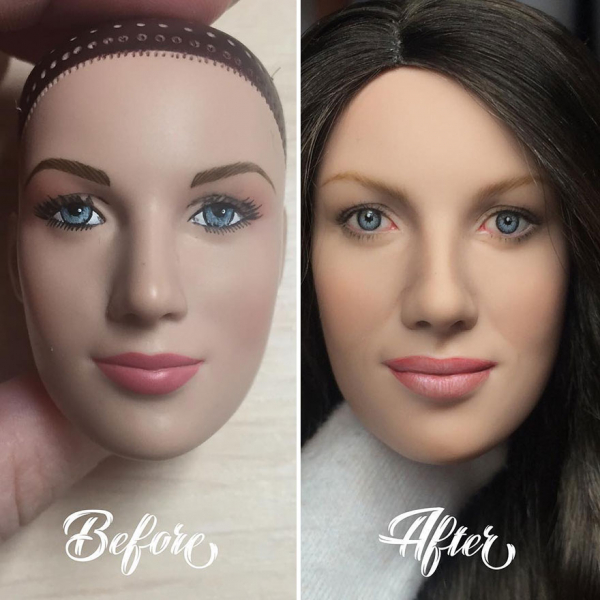 ukrainian artist continues to remove the makeup of dolls and re creates them with an incredibly real look 5c63e12da4ca0 880