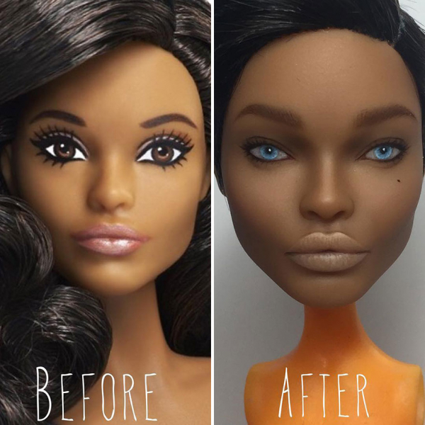 ukrainian artist continues to remove the makeup of dolls and re creates them with an incredibly real look 5c63e12f85391 880