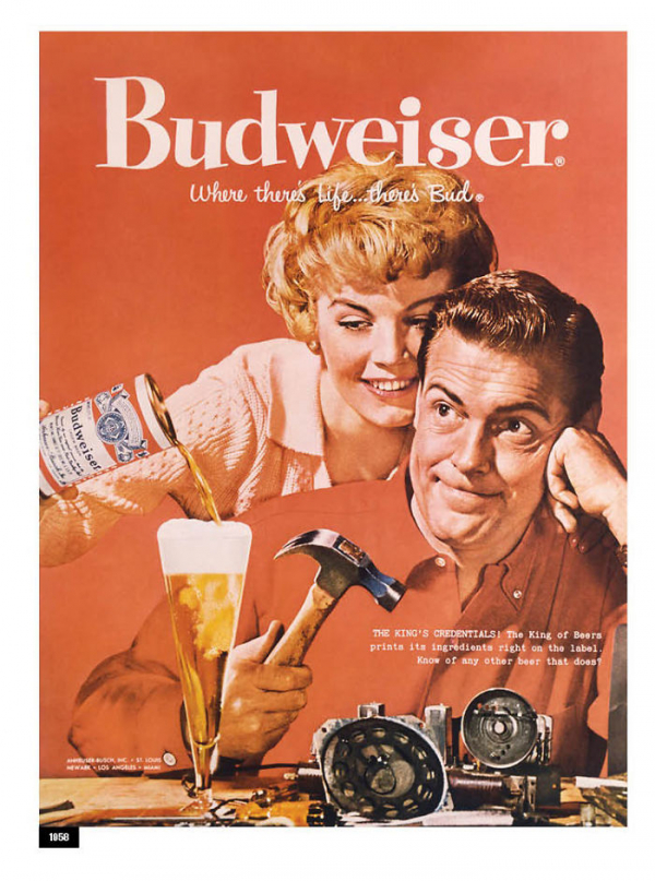 in honor of the women budweiser revisits their sexist advertisements of the 50s 5c8586c718dd8 700
