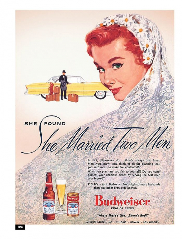 in honor of the women budweiser revisits their sexist advertisements of the 50s 5c8586d18b619 700