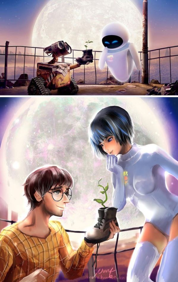 non human cartoon characters as humans 58 5a86dfe57f8dc 605