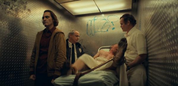 joker movie trailer breakdown analysis arkham asylum elevator