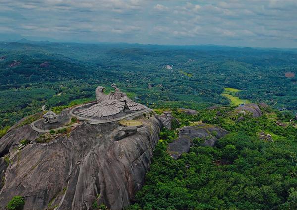 largest bird statue jadayupara jatayu earth centre india 7 5cb990b8cd28f 700