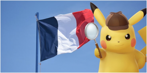 detective pikachu french flag
