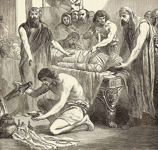 corpse medicine egyptians embalming 520