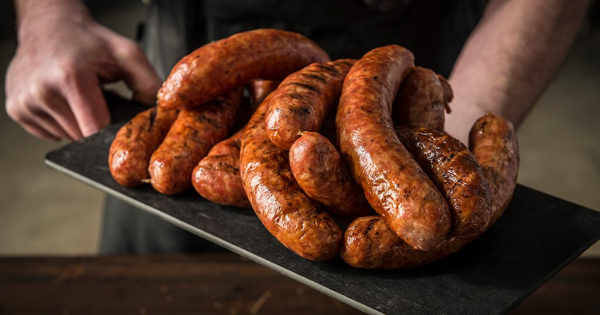 smoked sausage traeger wood fired grills re he m