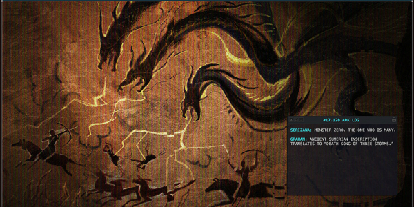 ghidorah from godzilla king of the monsters viral website
