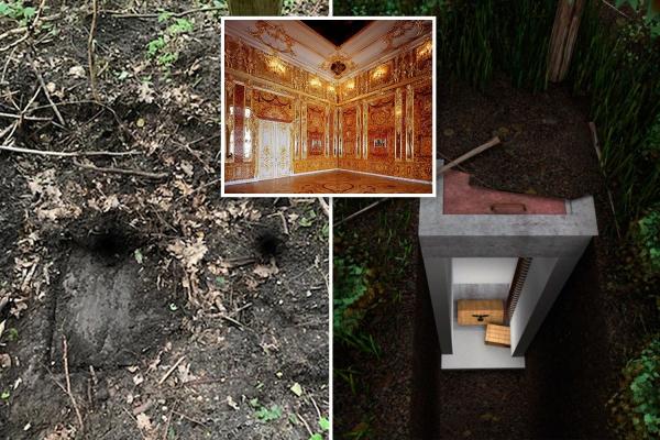 treasure hunters find long lost 250m amber room haul stolen
