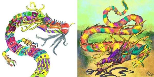 artists transform kids doodles art monsters2