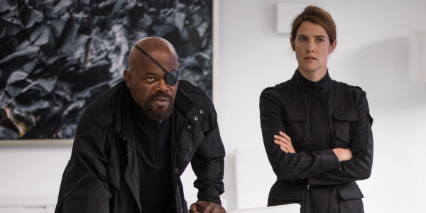 spider man far from home nick fury maria hill