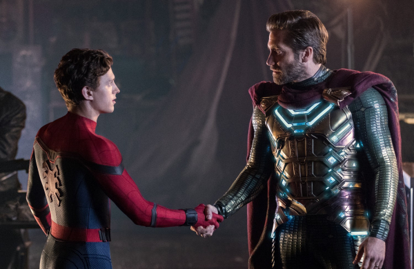 spider man far from home tom holland jake gyllenhaal