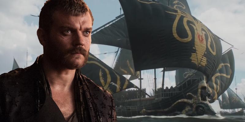 euron greyjoy and his fleet in game of thrones season 7