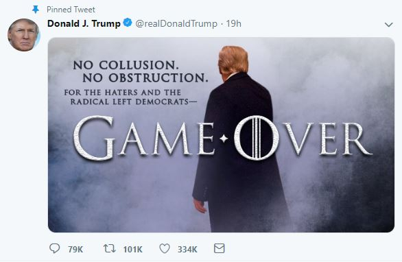 trump game of thrones