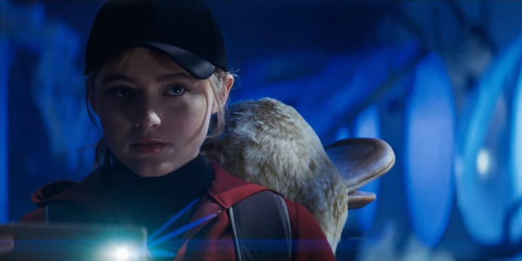 every live action pokemon in the new detective pikachu trailerb psyduck