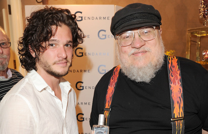 kit harington george r r martin
