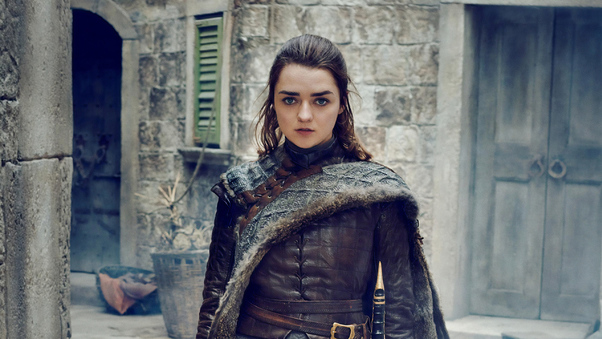 arya stark game of thrones season 8 photoshoot 5p