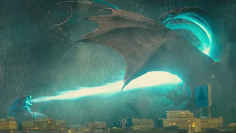three new tv spots for godzilla king of the monsters feature awesome monster mayhem social