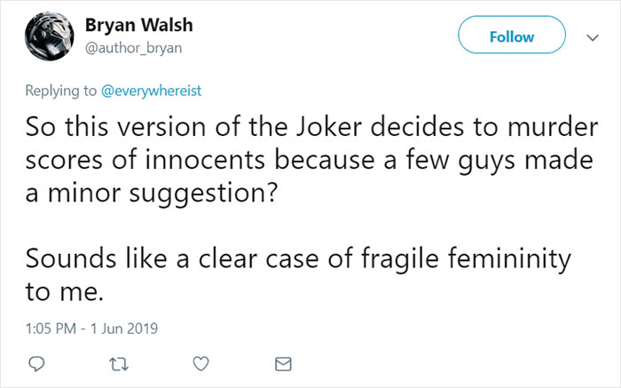 women suggested female joker batman 8 5cf4c34d3b893 700