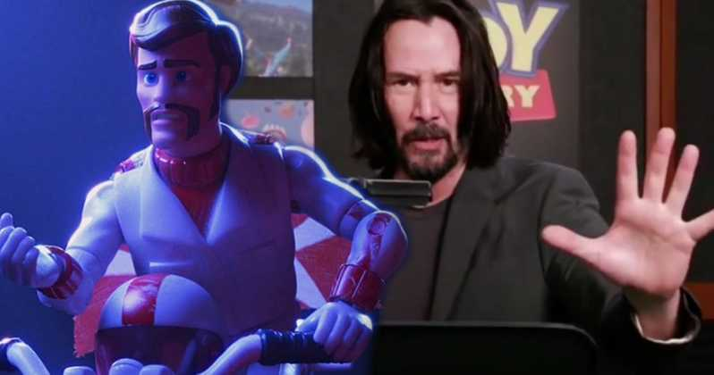 toy story 4 keanu reeves duke caboom voice