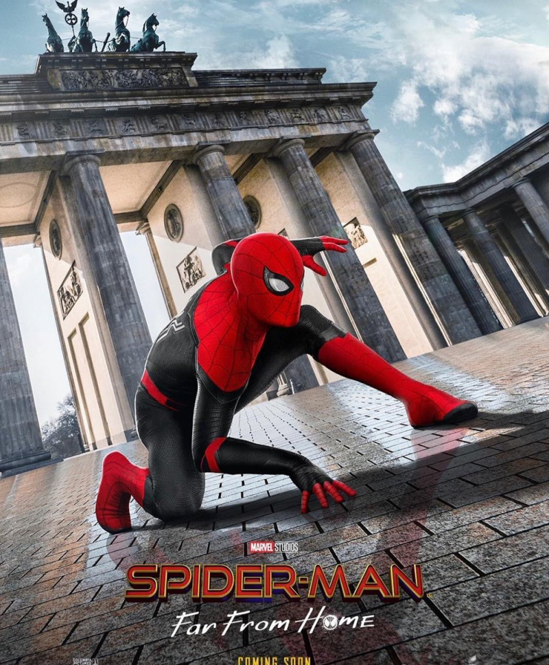 spider man far from home posters
