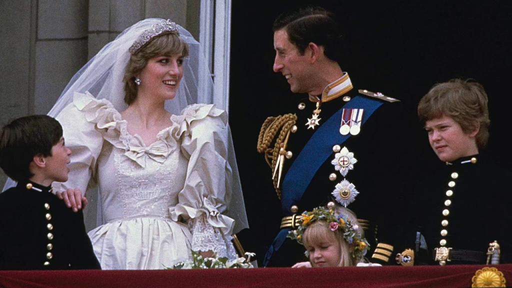 Đám cưới hoàng gia của Thái tử Charles và Diana cũng sẽ được tái hiện.