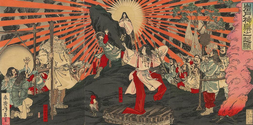 amaterasu japanese goddess of the sun