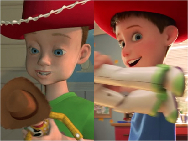 Toy Story 4: Phải chăng cậu bé Andy đã tranh thủ đi... phẫu thuật thẩm mỹ?