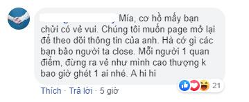 Fanpage lớn nhất của Song Joong Ki tại Việt Nam: Dẹp page hôm idol kết hôn, mở lại ngày có tin ly hôn