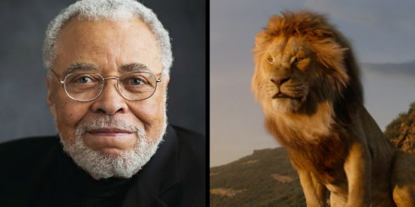 james earl jones as mufasa in the lion king