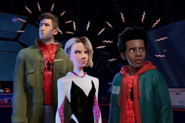 spider man into the spider verse miles morales spider gwen 1544547753
