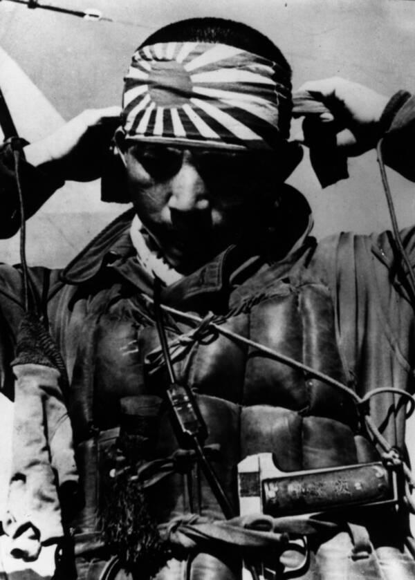kamikaze pilot