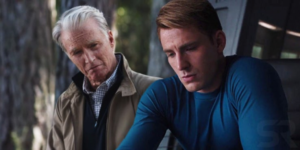 captain america and old steve rogers theory