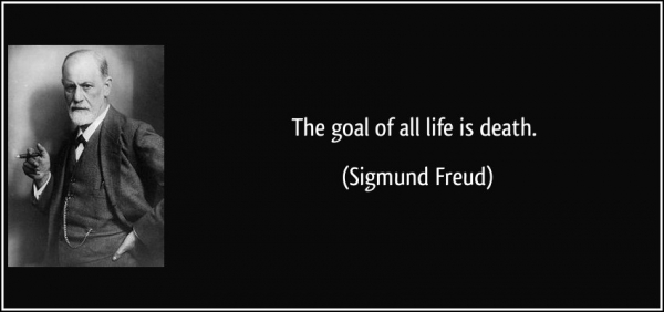 quote the goal of all life is death sigmund freud 66019