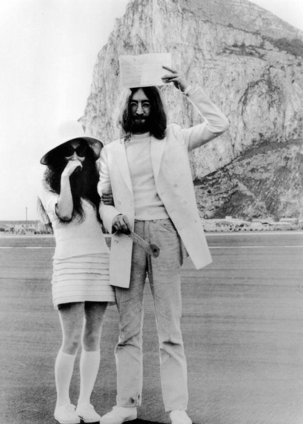 yoko ono and john lennon 1969