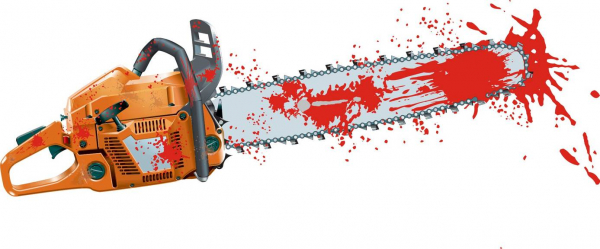 bloody chainsaw by disober d126vjn pre