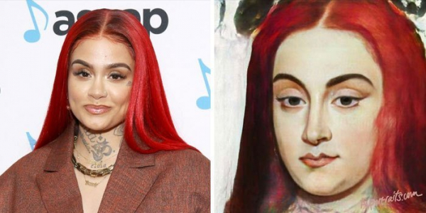 ai transforms celebrities photo into old portraits paintings 5d380ab19a969 700