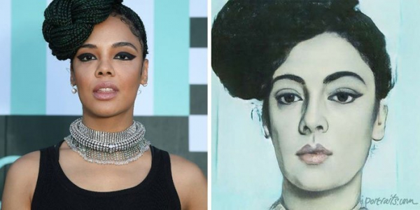 ai transforms celebrities photo into old portraits paintings 5d380ab675aed 700
