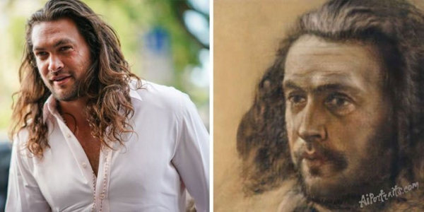 ai transforms celebrities photo into old portraits paintings 5d380acbf159f 700